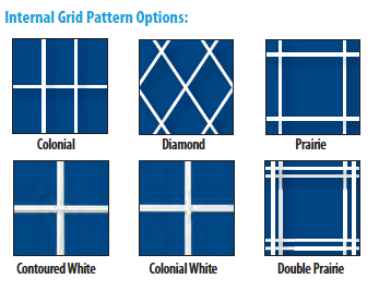 Internal Grid Patterns Showcase Impact Windows