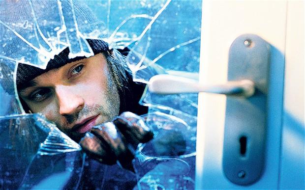 burglar-impact glass